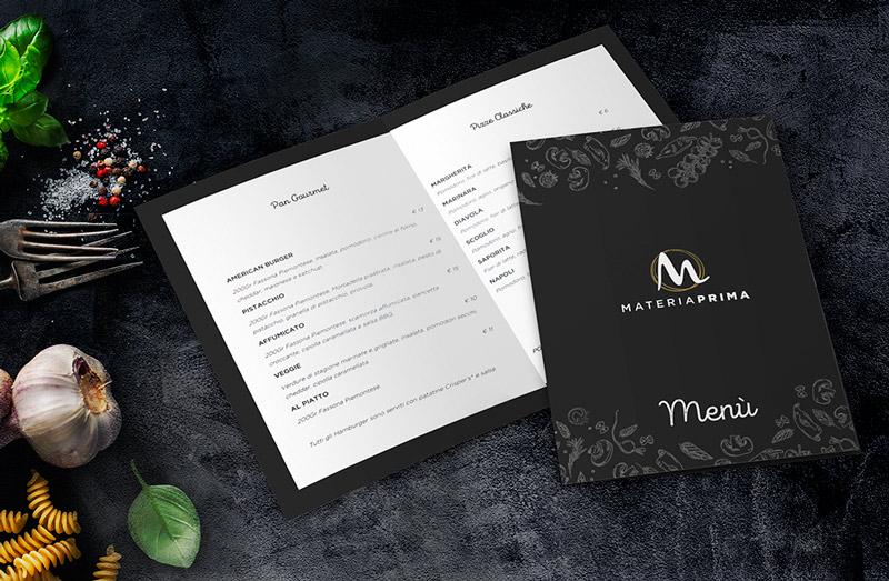 realizzazione logo ristorante