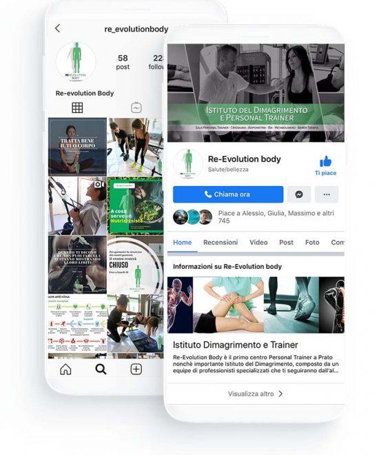 social network per palestre