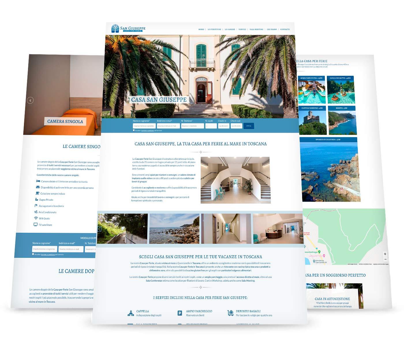 siti web per alberghi