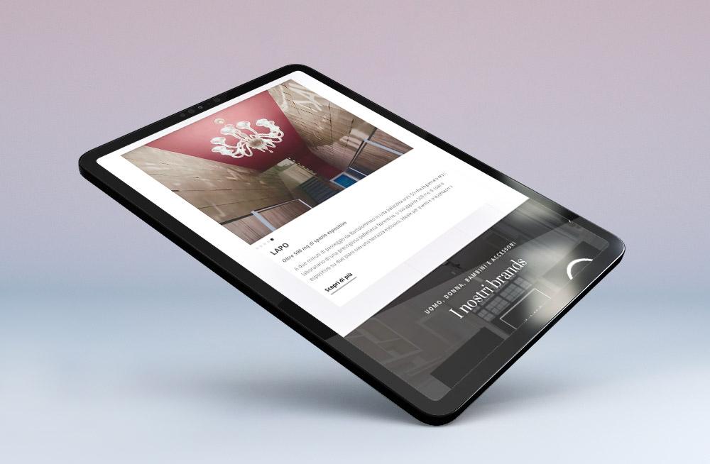 sito web per negozio di abbigliamento